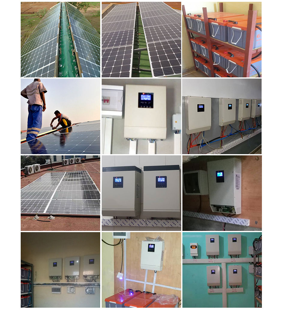 5kw Solar Racking System Electricity Solar System For Home Use